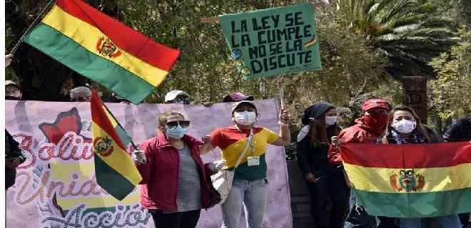 Bolivia inicia una atípica campaña electoral en medio de la pandemia