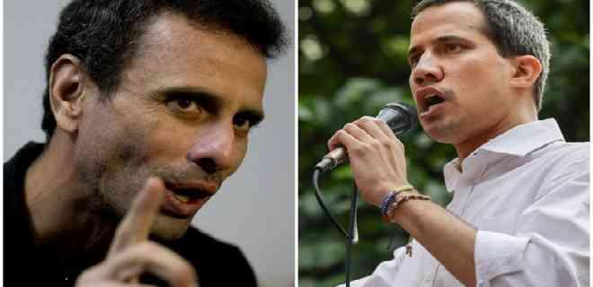 La guerra en Twitter: cuentas del régimen de Maduro apoyan a Capriles y atacan a Guaidó