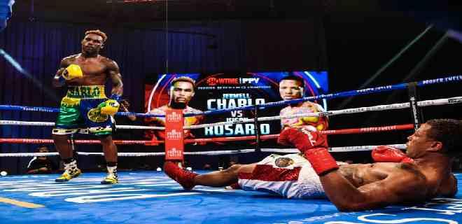 El estadounidense Charlo derrota al dominicano Rosario en pelea unificadora
