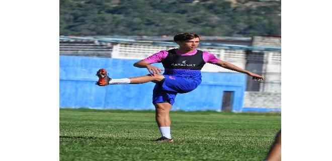 "Diego Guillén: ""Es un orgullo estar representando a Estudiantes de Mérida""."