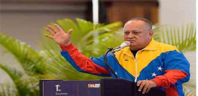 """Cabello pide al chavismo """"unidad"""""""