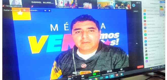 Jehyson Guzmán llama a permanente vigilancia de bases revolucionarias