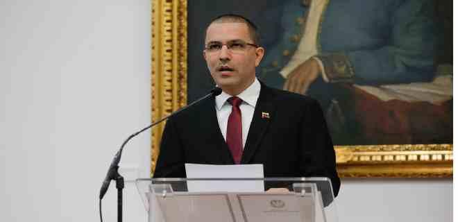 Arreaza reitera invitación a la ONU y a la UE para observación internacional en elecciones del 6D