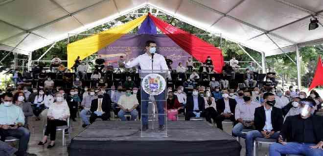 Guaidó presentó pacto unitario opositor