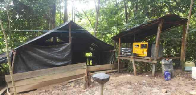 Destruyen campamento de cocaína en Zulia