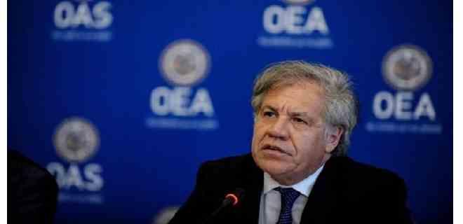 Almagro respaldó investigación por los crímenes de lesa humanidad cometidos por el régimen de Maduro