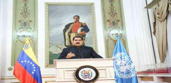 Maduro dedica su discurso en la ONU a atacar a EEUU