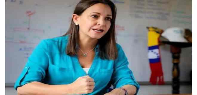María Corina Machado: Fantasía es creer que el régimen va a salir de otra manera que no sea con fuerza