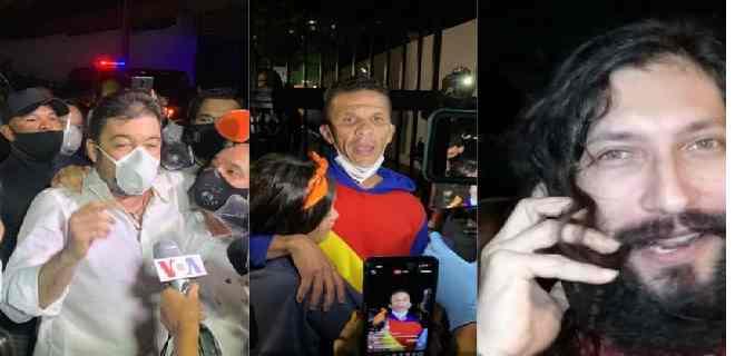 Marrero, Caro y Prieto: los tres primeros liberados tras el indulto