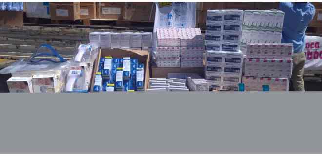 Casi siete millones de unidades de medicamentos e insumos han llegado a Mérida