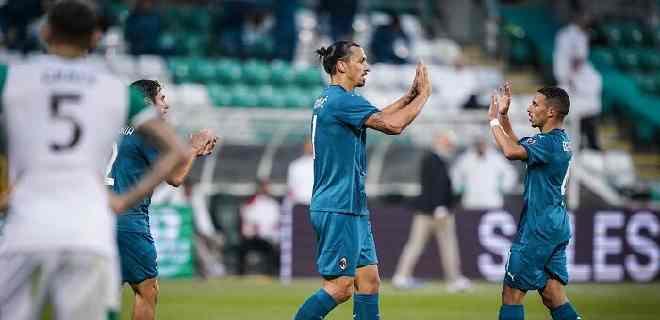 Ibrahimovic y Calhanoglu lideran la clasificación del Milan en la Europa League