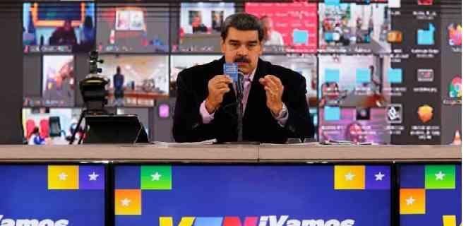 Maduro propone que candidatos chavistas se pongan la vacuna rusa para que hagan su campaña con tranquilidad