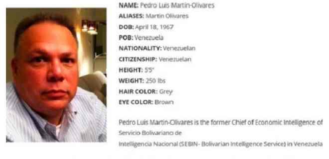 EEUU ofrece recompensa por tres ex jefes de inteligencia venezolana buscados por narcotráfico