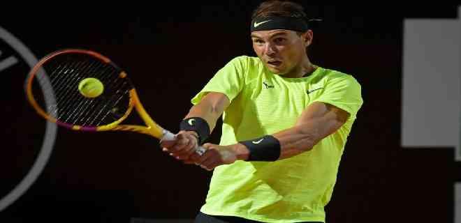 Rafael Nadal regresa de manera impresionante en el Masters de Roma