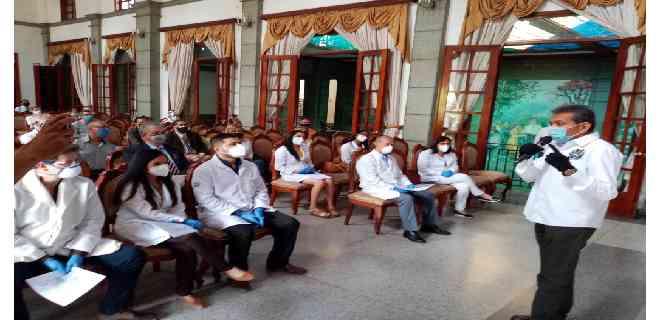 Médicos del Iahula al frente del coronavirus recibieron incentivos