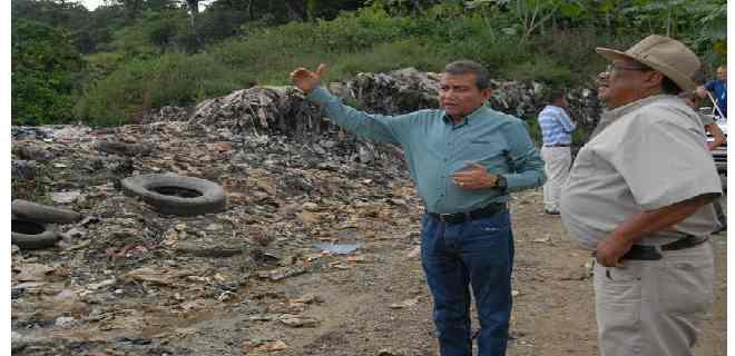 Gobernación de Mérida trabaja en la reactivación del vertedero de Onia