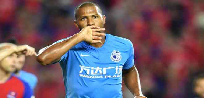 Salomón Rondón fue elegido MVP de la novena jornada de la Superliga China