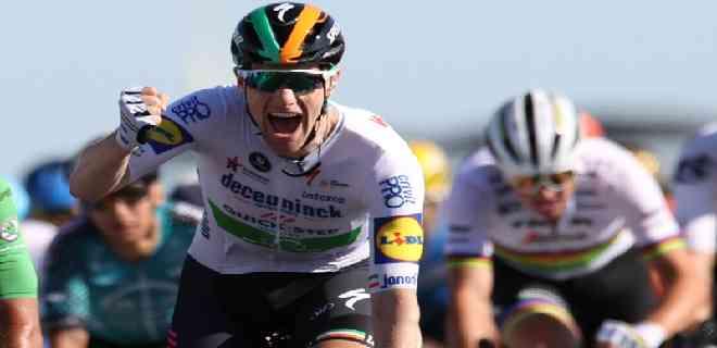 Sam Bennett gana al sprint la décima etapa del Tour