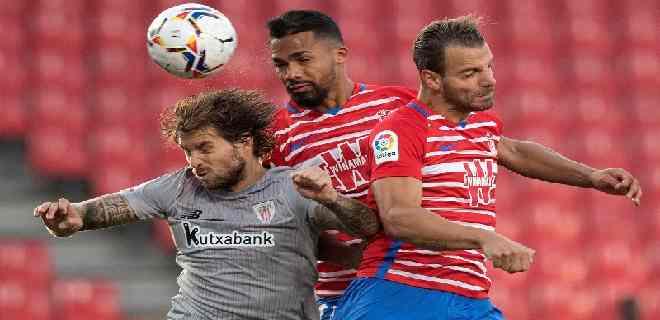 Yangel Herrera marca dos goles en debut del Granada en la Europa League