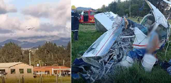Un accidente de avioneta en Colombia deja tres muertos y un bebé herido