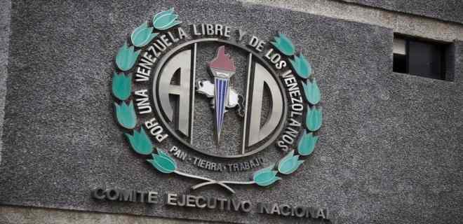 Acción Democrática inscribe a sus candidatos para elecciones del 6D