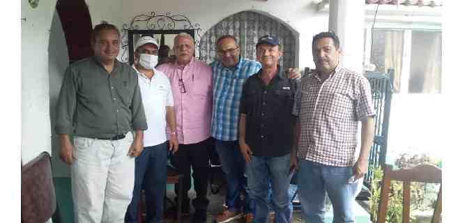Militantes de AD en el Mocotíes afinan estrategias de cara a las elecciones del 6