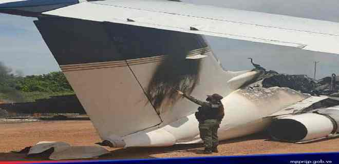 Reverol afirmó que neutralizaron avioneta que sobrevolaba ilegalmente en Venezuela