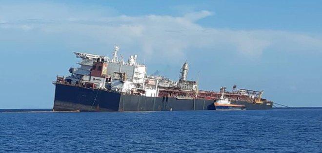 ZODI inspeccionó el tanquero Nabarima «inclinado peligrosamente» en Golfo de Paria
