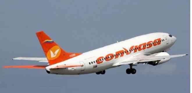 Retornan en vuelo de Conviasa 181 venezolanos que se encontraban en Italia