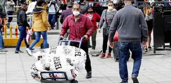 Colombia llega a los 855.052 contagios y 26.712 muertes