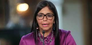 Según Delcy Rodríguez: Más del 90% de los venezolanos apoyan la Ley Antibloqueo