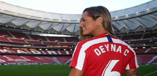 Deyna Castellanos volvió a marcar con el Atlético de Madrid