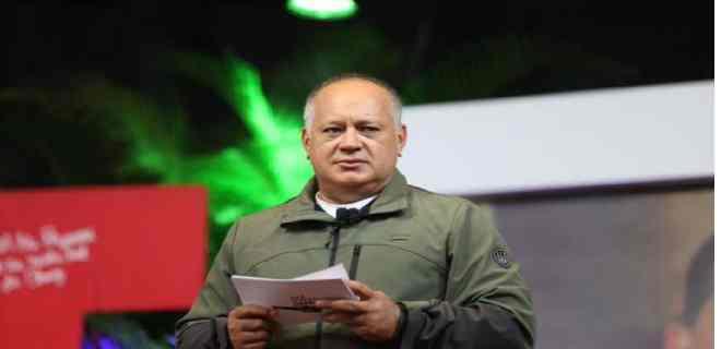 Diosdado Cabello: Los vamos a echar de la AN