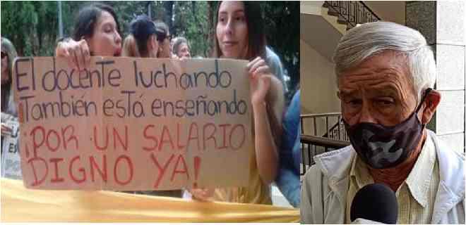 Docentes Merideños a la calle este 05Oct  por una educación de calidad vs la marginalidad que quiere el gobierno nacional