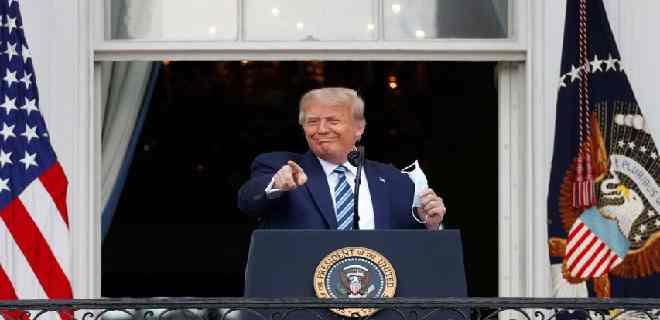 Trump dio negativo en nueva prueba de covid-19