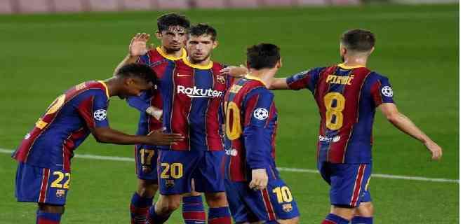 Barcelona debutó con goleada en la Champions League