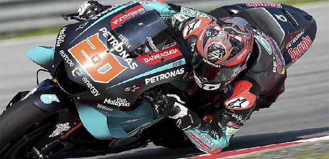 Quartararo logró la pole position en el Gran Premio de Aragón