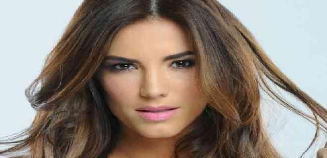 Gaby Espino suelta prendas de su nueva telenovela