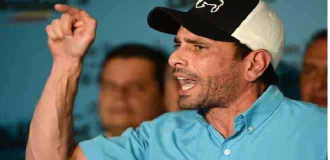 Capriles: Exigimos que esta elección sea postergada