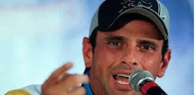 """Capriles dice que Maduro """"vendrá con el cuento""""  de que ha aplanado la curva"""