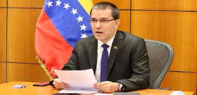 Arreaza: Trump trata de asustar a los votantes de EEUU señalando a Venezuela