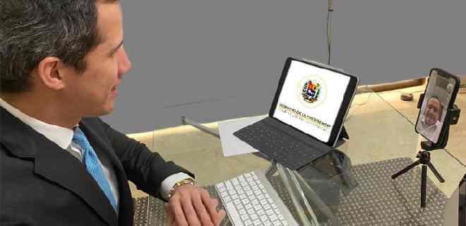 Guaidó presentó testimonios de venezolanos ante la crisis país