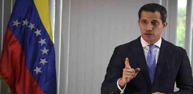 """Guaido dice que """"Venezuela es hoy un país en guerra"""""""
