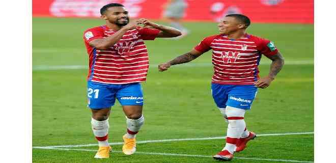 Con goles de los venezolanos Machís y Yangel, el Granada hizo historia en Suecia