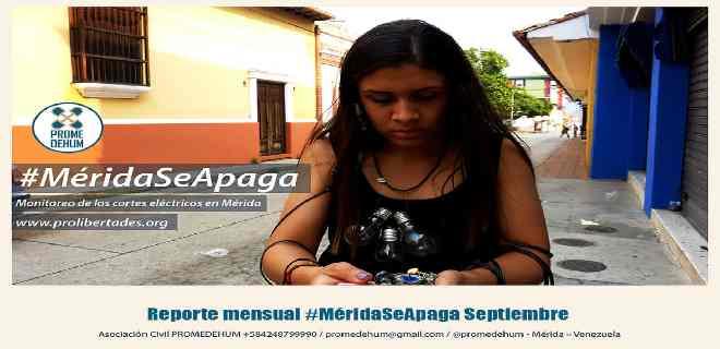 Promedehum registró cortes eléctricos de hasta 16 horas continuas en Mérida