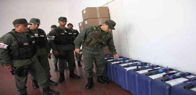 FANB resguarda material y equipo electoral para elecciones del 6D