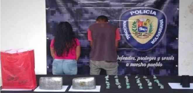 Miranda | PNB captura a pareja con 2.155 kilos de marihuana