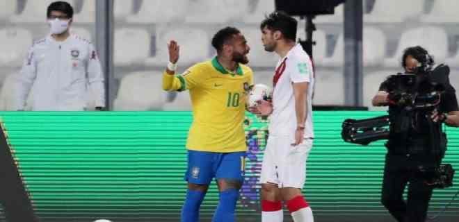 """""""No llores, amigo"""": la repuesta de Neymar a Carlos Zambrano tras llamarlo payaso"""