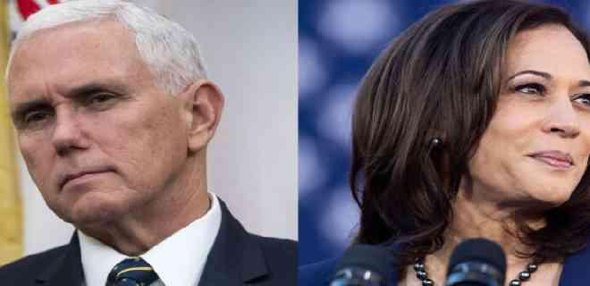 Autorizan debate del vicepresidente Pence frente a la demócrata Kamala Harris