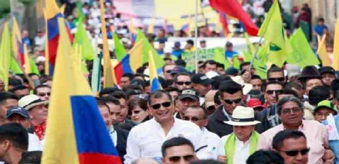 Movimiento de Correa aspira a replicar en Ecuador triunfo del MAS en Bolivia